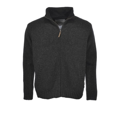 Pure Wool Herenvest MNL-1703 Antraciet