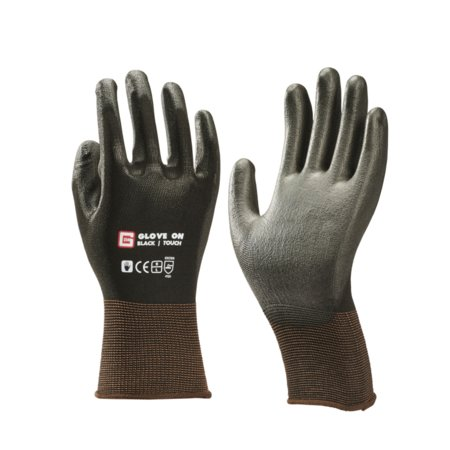 Glove On Handschoen Touch Black