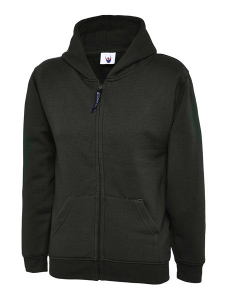 Uneek Classic Hooded Sweatshirt UC506 Kids